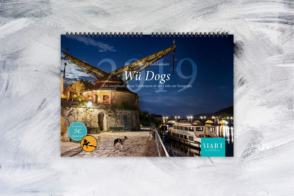 Der Wü Dogs 2019 Spenden Kalender